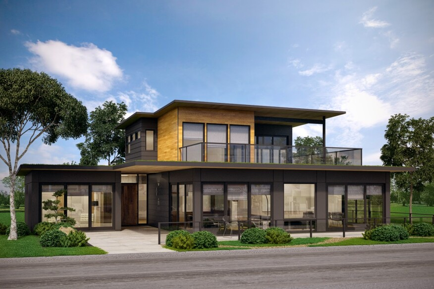 Modular builder gives homes a smart upgrade builder for Builder magazine house plans