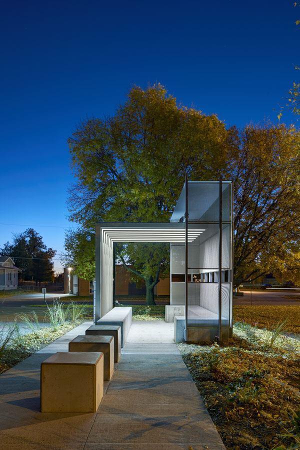 Corinthian Gardens Smokers Shelter Des Moines Iowa