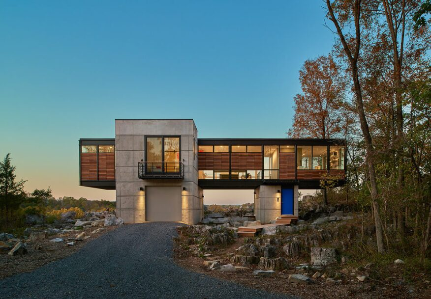 A Contemporary Bridge Home in West Virginia | Architect Magazine ...