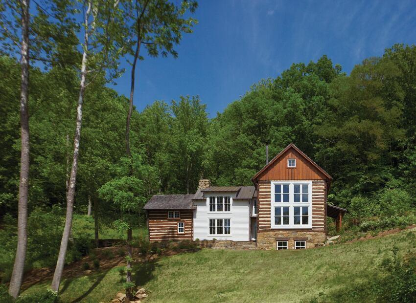 hazel river cabin woodville va builder magazine