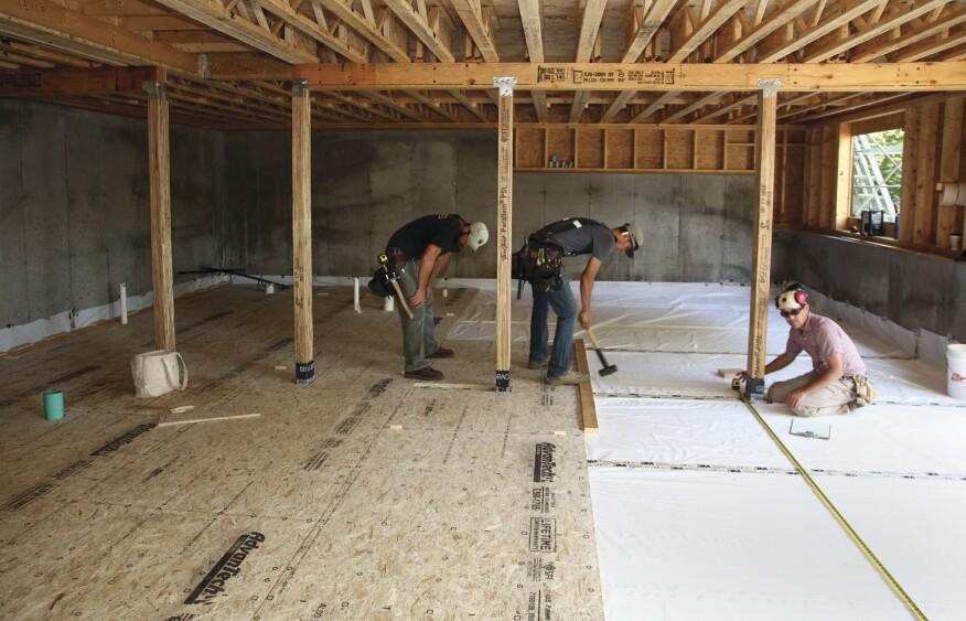 A Basement Floor Without Concrete Jlc