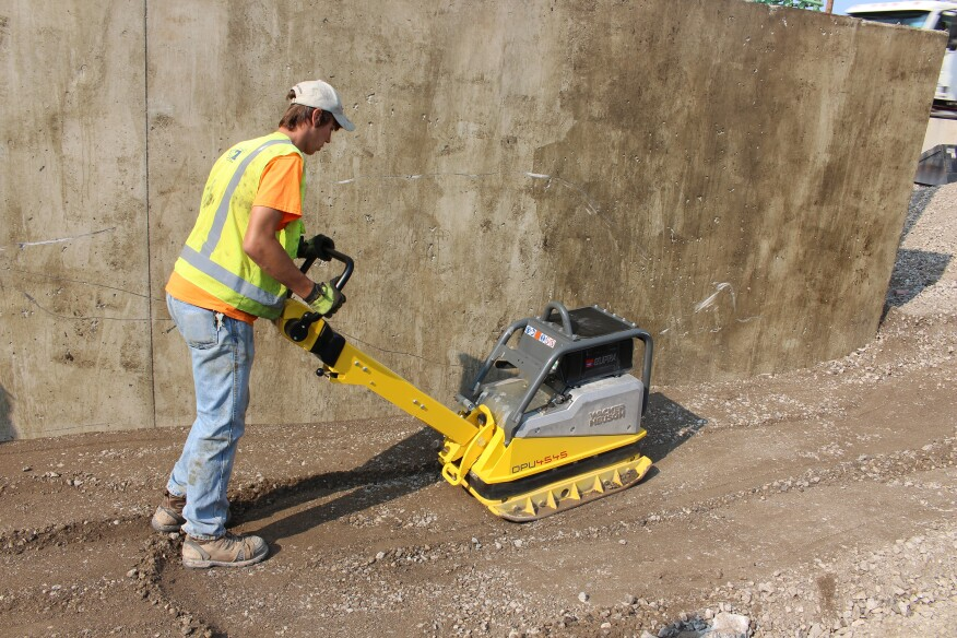 The Key To A Good Slab Is Well Compacted Subgrade And Subbase