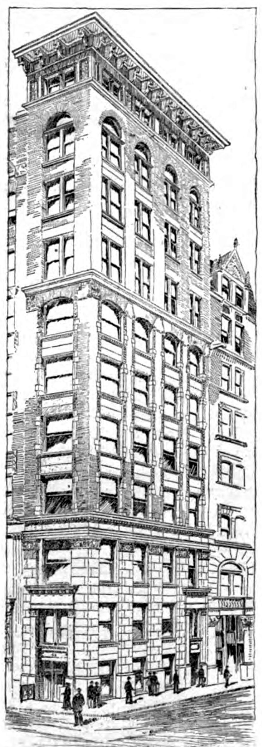 Le bâtiment Manice