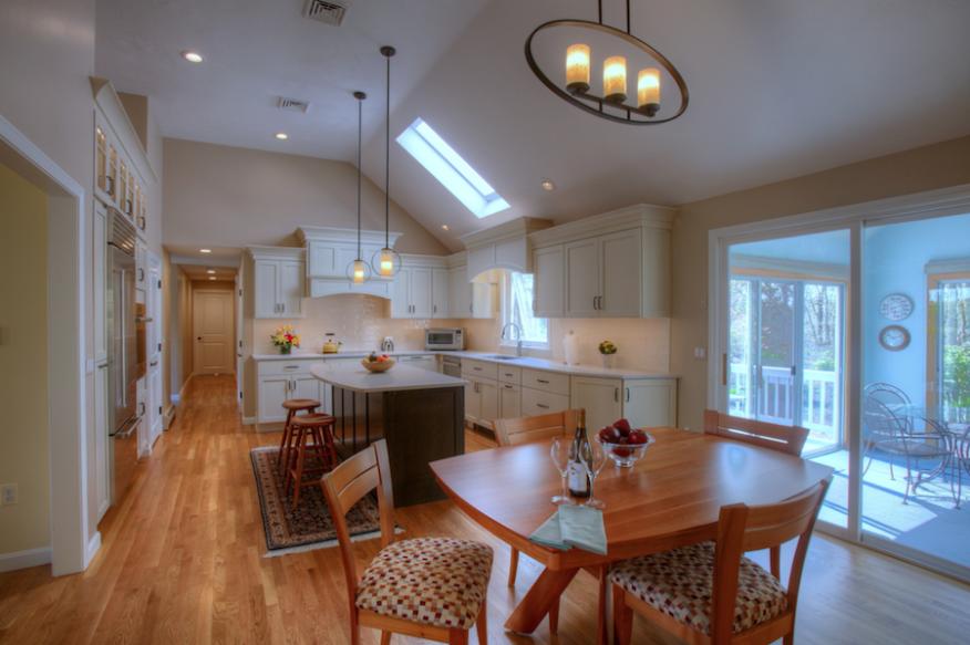 layered kitchen lighting  remodeling