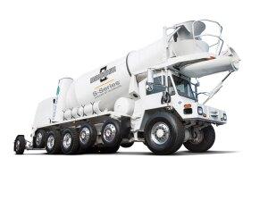 S-Series front discharge mixer truck| Concrete Construction