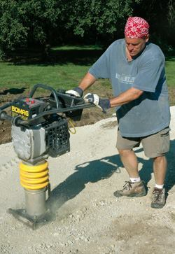 Rammers Or Jumping Jacks Do A Good Job Compacting Dirt Fill Materials Care