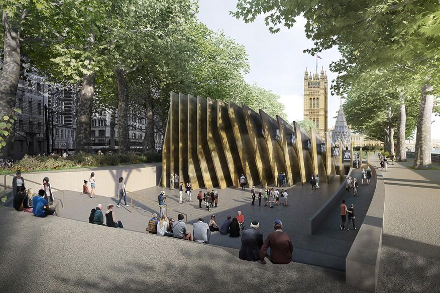 team led by david adjaye to design a holocaust memorial in london