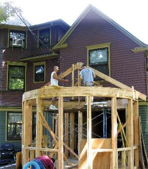 Framing A 16 Sided Addition Jlc Online Framing Sitework Walls
