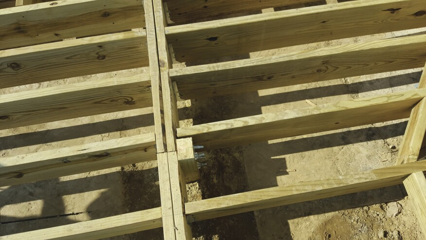 Adding A Deck To A Brick Veneer House Professional Deck Builder