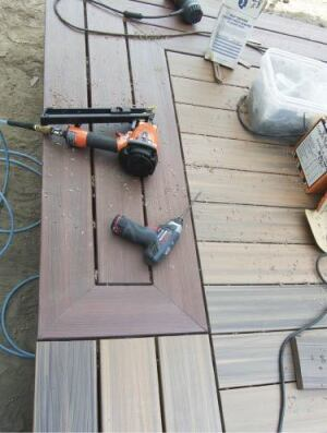 Picture-Framing a Deck | Professional Deck Builder