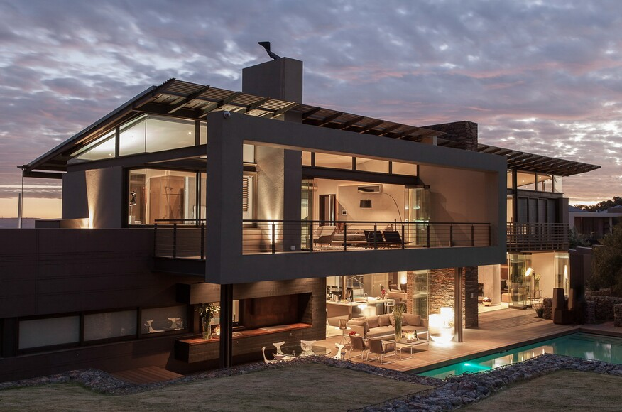 Custom Design Home. House Duk  Architect Magazine Nico van der Meulen Architects