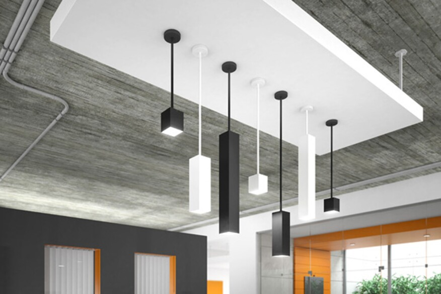 Tech lighting releases rectangular pendant called exo courtesy tech lighting mozeypictures Choice Image