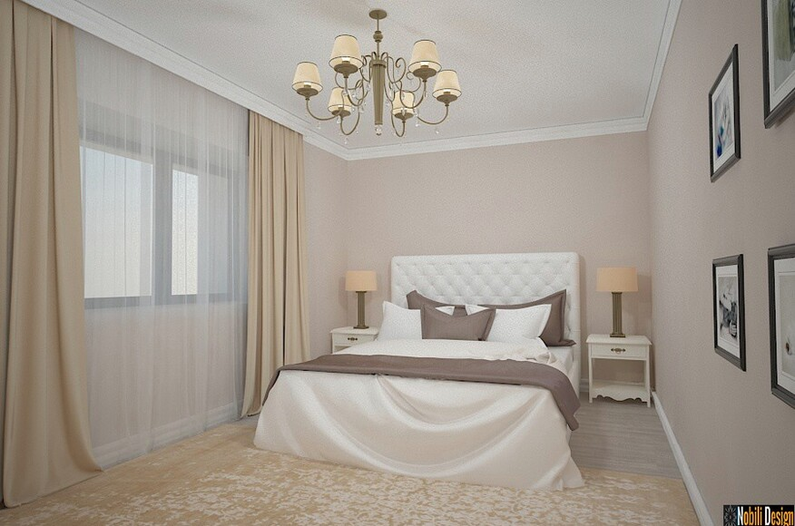 Interior design classic bedroom luxury house architect for Classic interior house colors