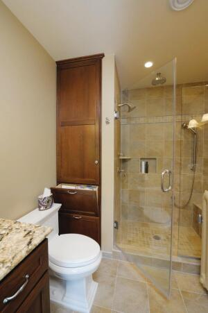 master bath's smart use of space | remodeling | bath