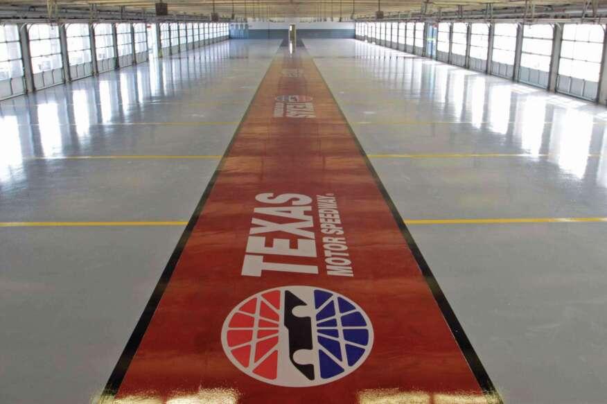 HighPerformance Coating For A HighPerformance Racetrack Concrete - Race track garage flooring