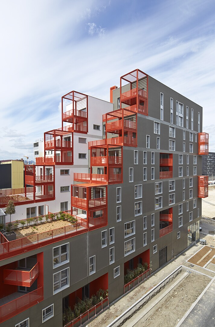 Industrial Style Meets Ecological Beauty In Paris Multifamily