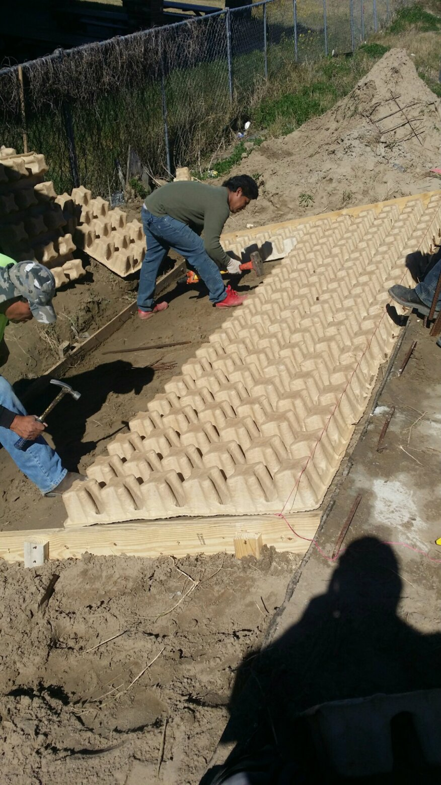 Grass Reinforced Concrete System Offers Strength And