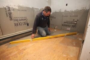 Pouring A Level Floor For Tile Jlc Online