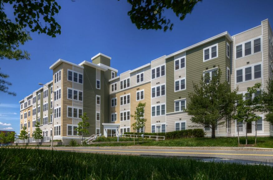 Park87 In Cambridge Mass Made Up Of 76 Modular Units On A