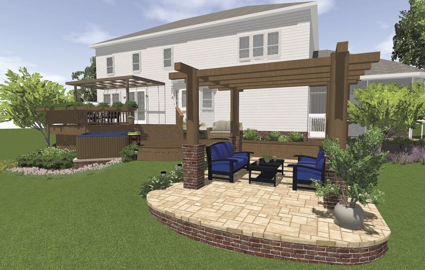 Deck design software professional deck builder decking for Softplan review