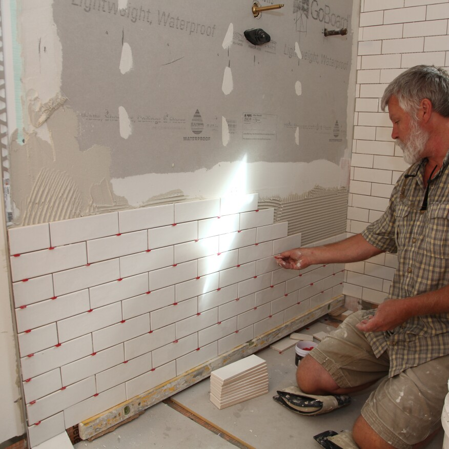 Tiling A Walk In Shower Chapter 6 Wall Tile Installation Jlc