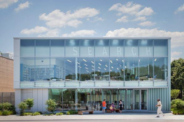 A Supergraphic Made with Daylight | Architect Magazine