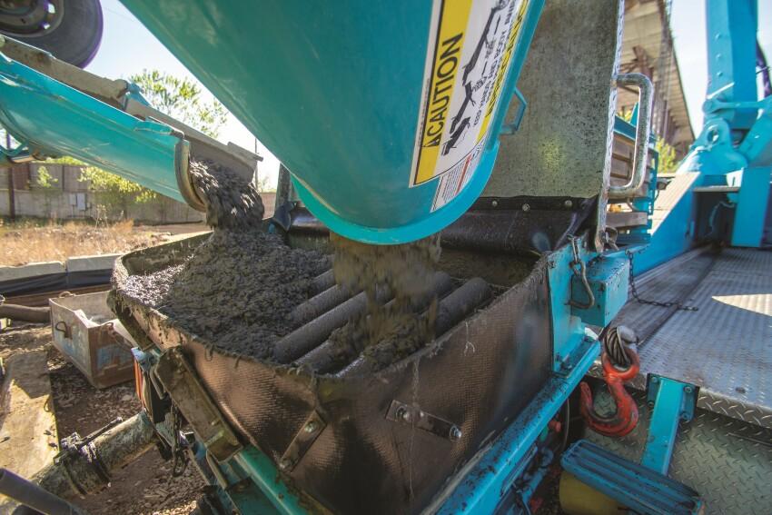 制作混凝土泵送