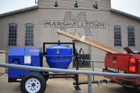 马歇尔敦在火灾后帮助混凝土承包商
