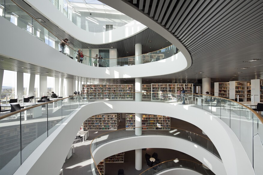 University Of Aberdeen Library By Schmidt Hammer Lassen Architects
