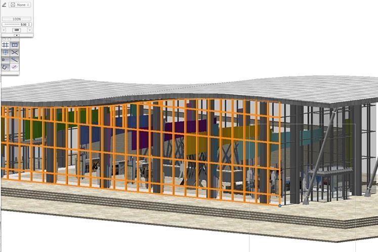 Curtainwall Construction Building Matertial