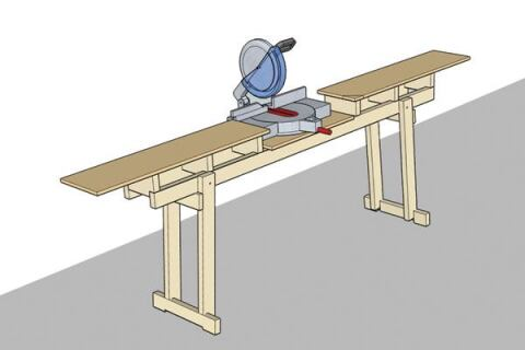 Quick Folding Chop Saw Stand Jlc Online