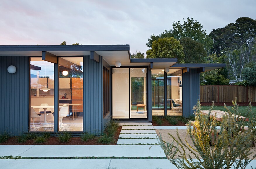 MidMod Eichler Addition Remodel By Klopf Architecture Architect - Bathroom remodel san mateo