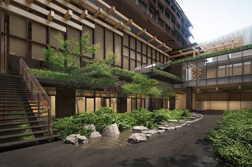Ace Hotel Kyoto Architect Magazine Kengo Kuma Associates - Architecture-design-in-kyoto-japan