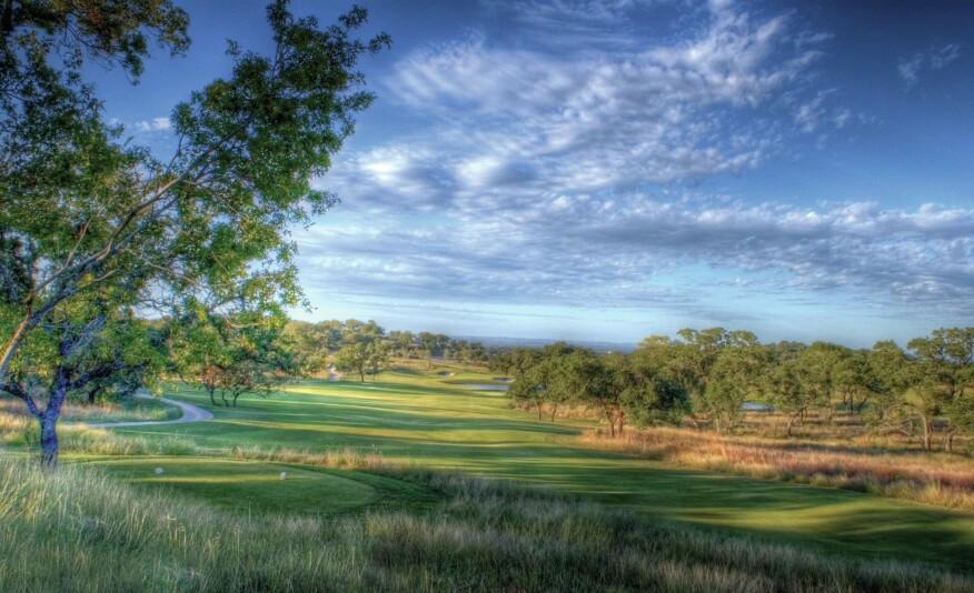 The front Nine at Cordillera Ranch Golf Club