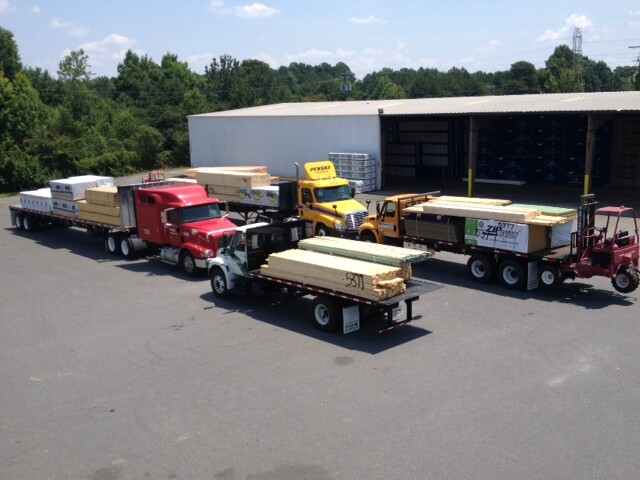 Carter Lumber Opens Second Charlotte N C Yard