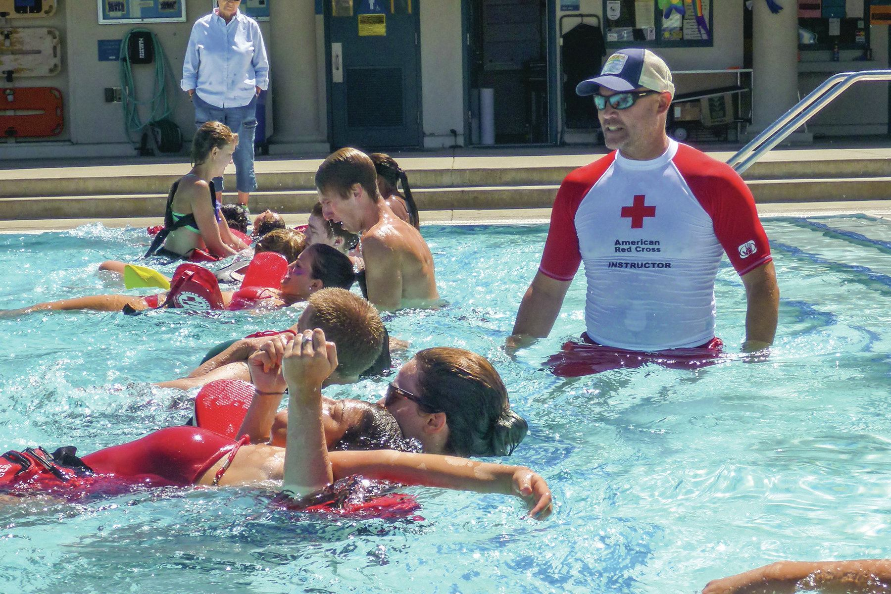 building better scenarios for lifeguard training