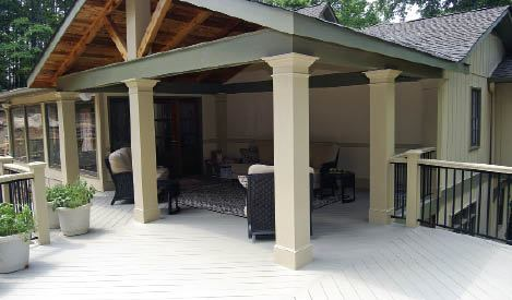 Build Strong And Stylish Porches Designing The Structure To