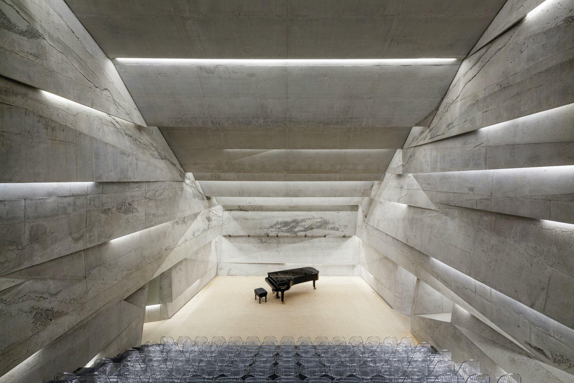 Konzerthaus Blaibach Architect Magazine Peter Haimerl