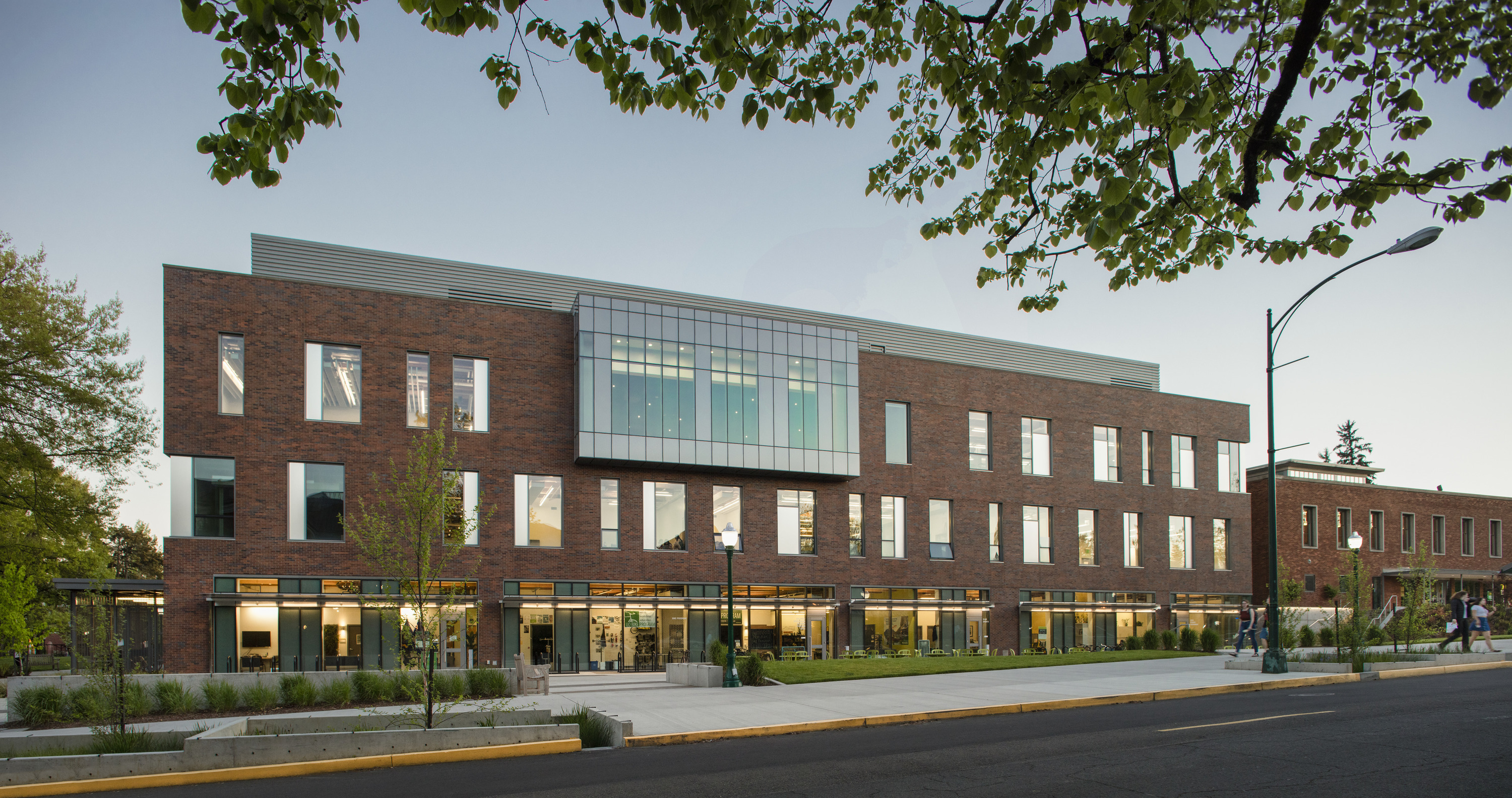 The erb memorial union renovation expansion architect for Residential architects eugene oregon