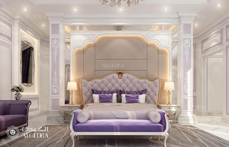 Royal Master Bedroom Design In Luxury Villa Architect Magazine