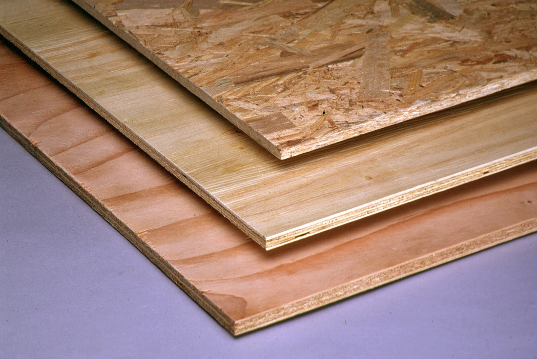 Osb vs plywood floor sheathing carpet review for Engineered woods