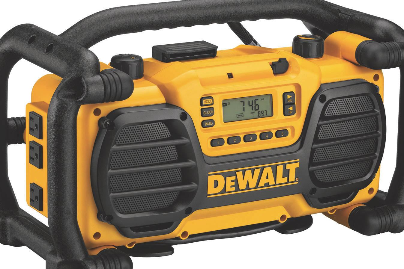 Dewalt Dc012 Radio Builder Magazine Products Tools