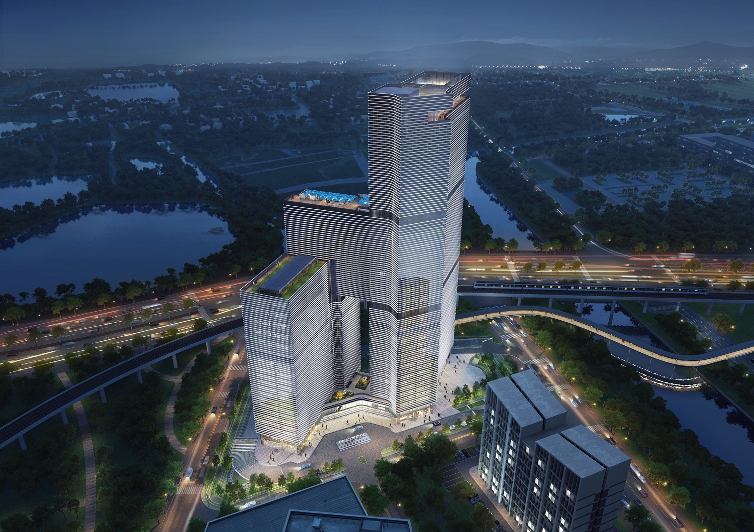 Guangzhou CHINA Nansha Kingboard Free Trade Zone Mixed Use Project