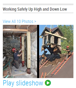 Working Safely And Comfortably At Heights Jlc Online