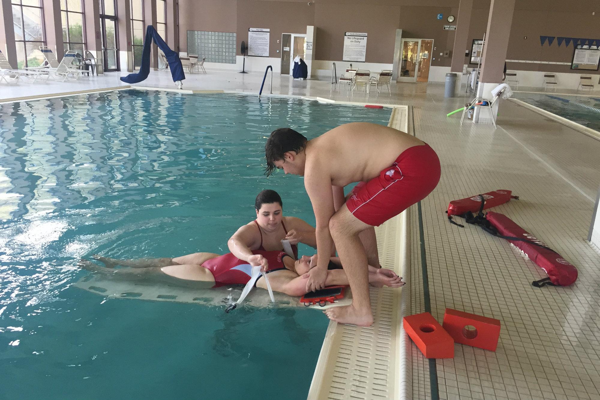 2018 Best of Aquatics Honoree Rochester Athletic Club Trains