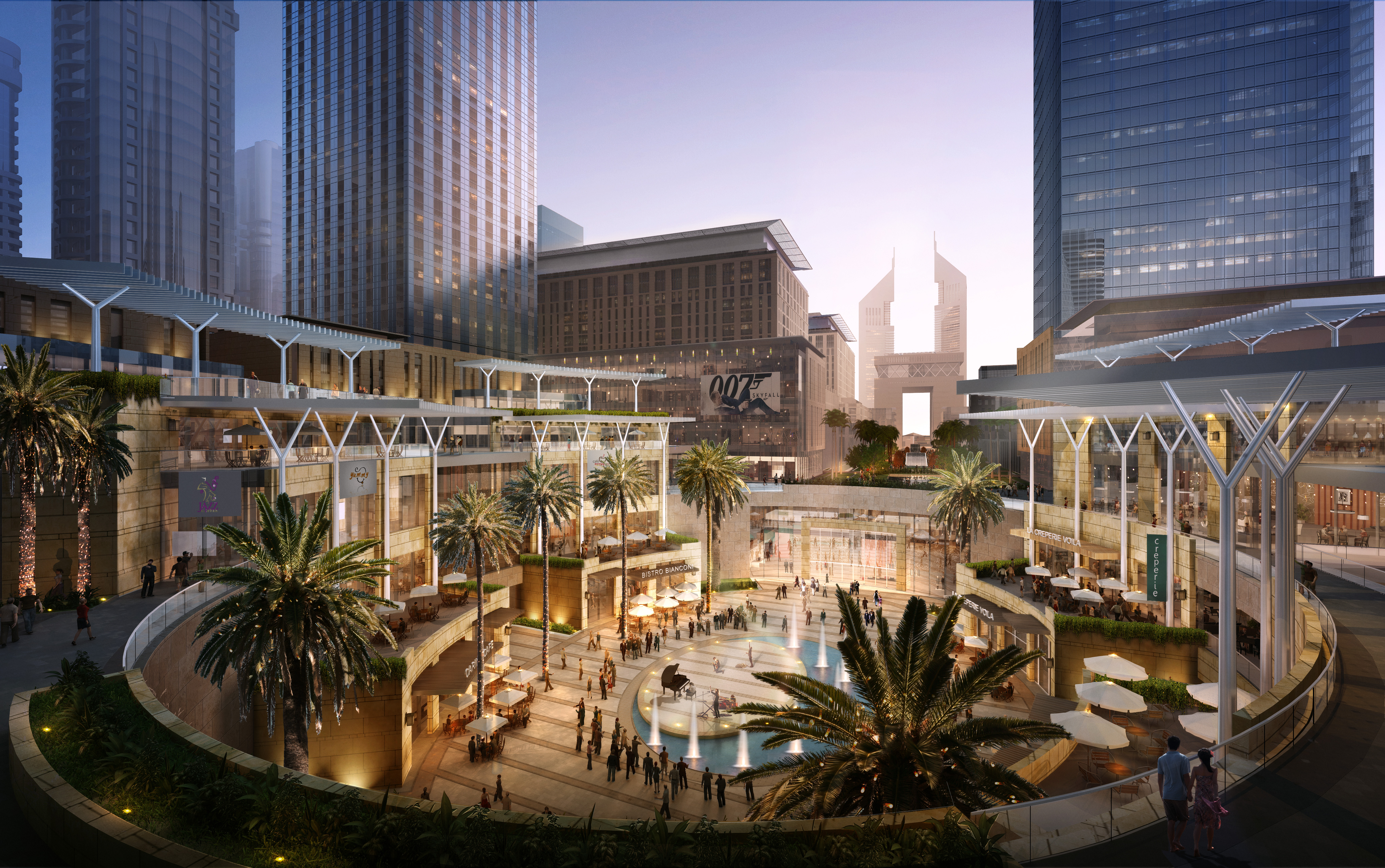 Dubai international financial center architect magazine for International decor uae