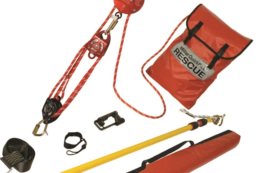 Miller Fall Protection Honeywell Quickpick Rescue Kit