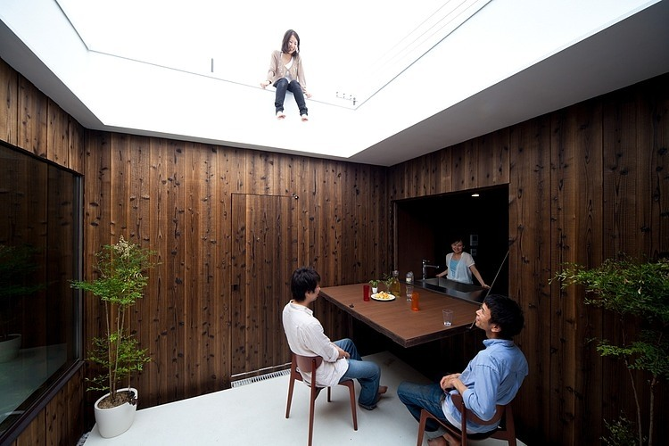 Convertible Roof Home Mirrors Nature Architect Magazine