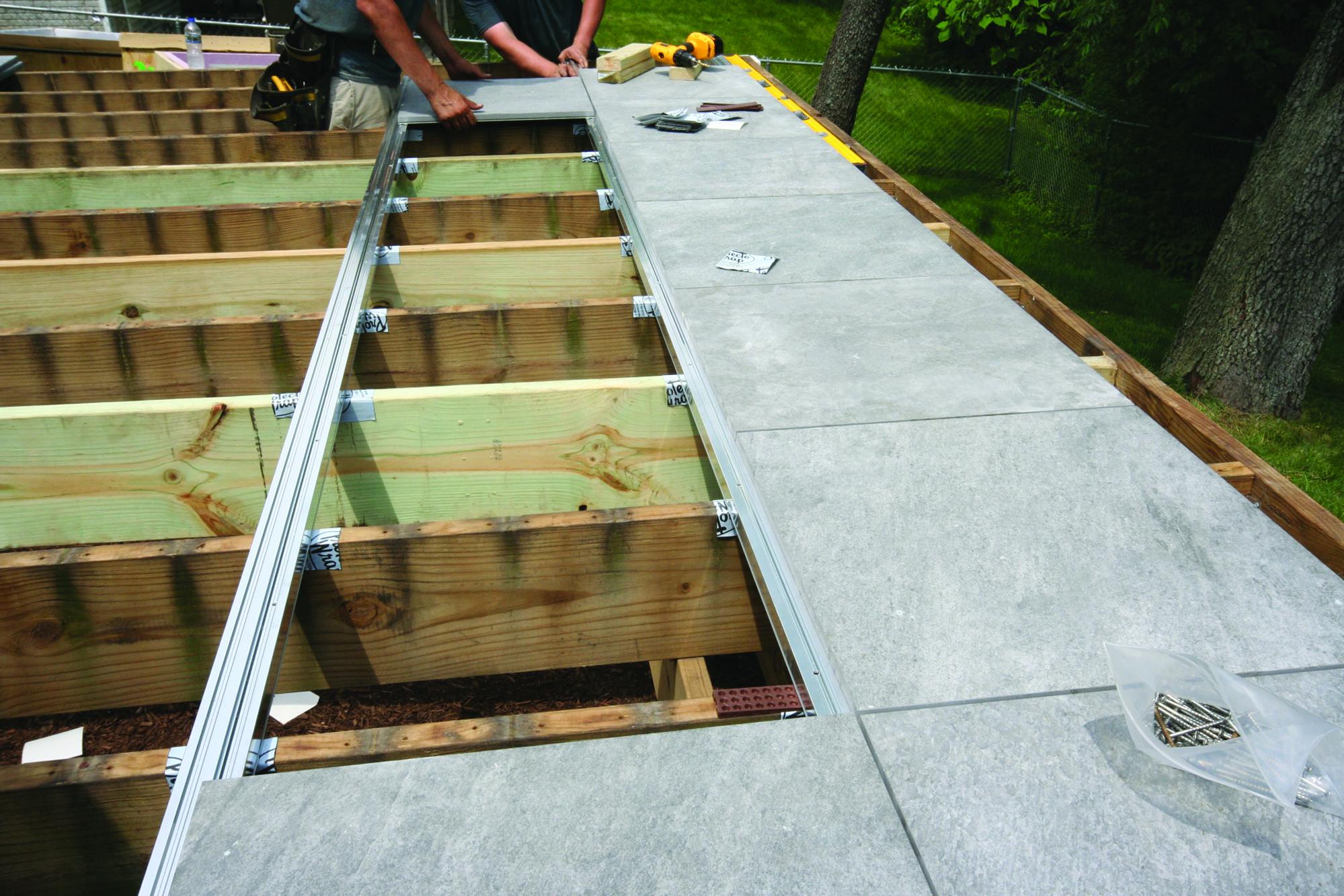 Engineered Tile Decking Jlc Online Decking Tile