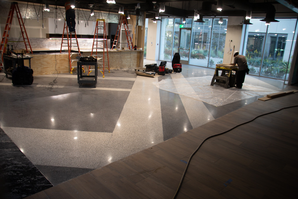 Getting Consistent Results On Polished Concrete Overlays Concrete